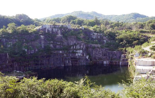 笠間・石切山脈