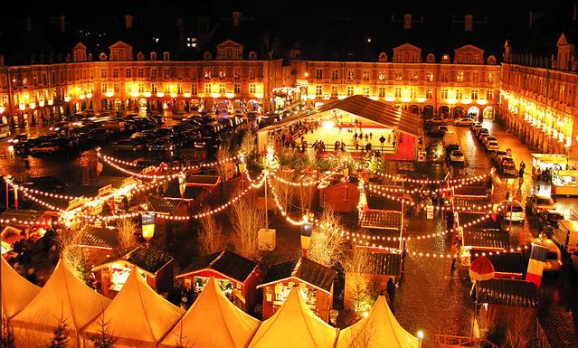 Marche de Noel a Charleville Mezieres