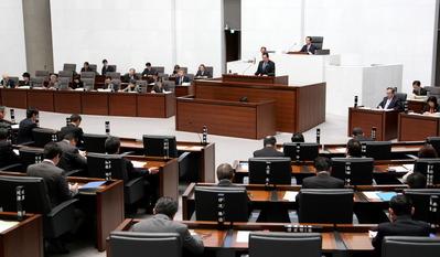 県議会代表質問(2016/3/3)