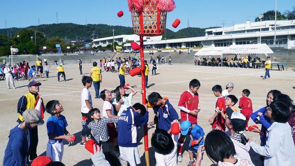 金沢学区三世代運動会