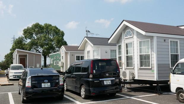 トレーラハウスによる福祉避難所