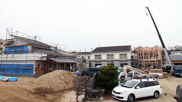 再建工事が始まった鵜の島温泉(2023年12月)