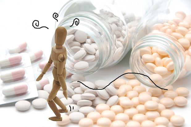 副作用のイメージ