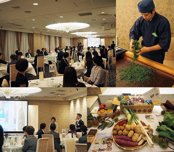 三越日本橋本店特別食堂にて茨城の魅力を食べ尽くす特別食事会