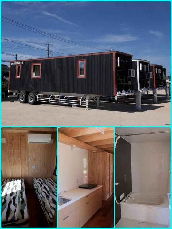 災害仮設住宅として初めて認められたモバイルハウス