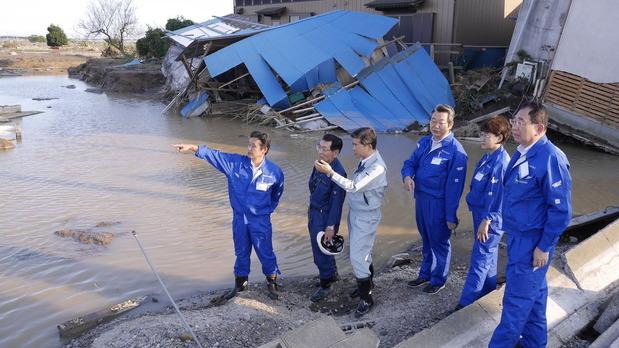 常総市水害被害