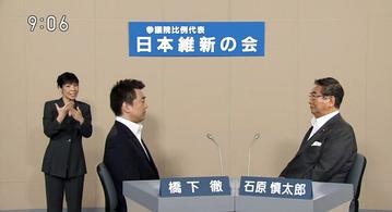 日本維新の会の比例区政見放送