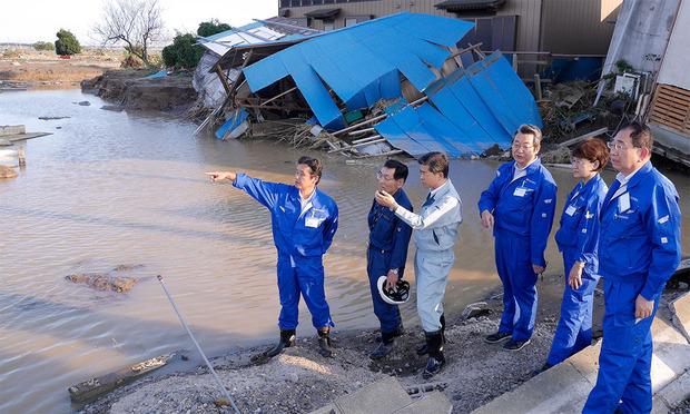 2015年9月に発生した関東東北豪雨被災地を調査