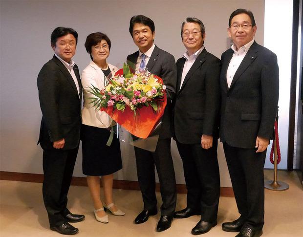 茨城県知事との政策協定