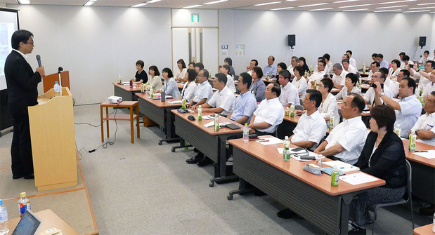 茨城県議会公明党健康セミナー