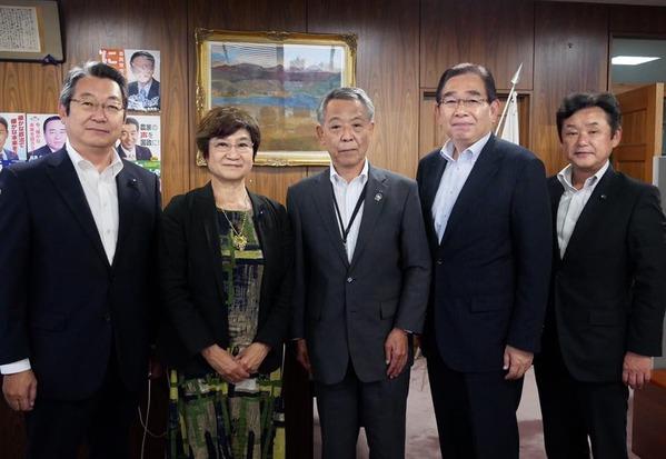 農協5連・佐野治会長を表敬訪問