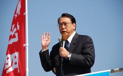 参院選公示:比例区長沢広明候補