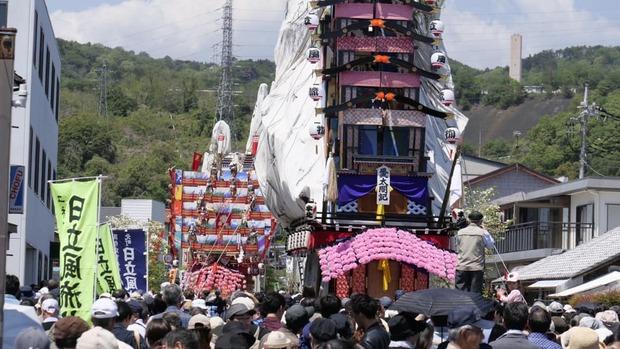 7年に一度のカミネ神社の大祭礼