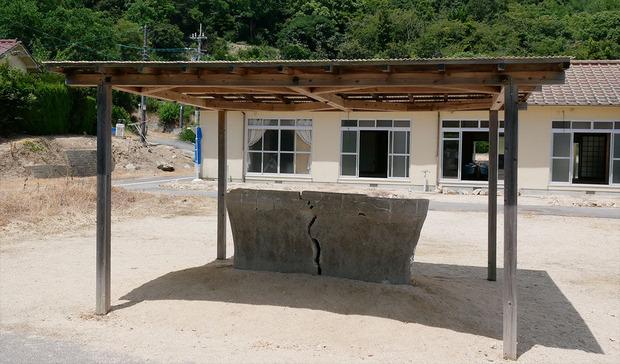 大島青松療養所の解剖台