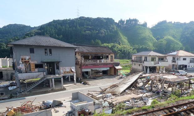 球磨村渡地区茶屋集落