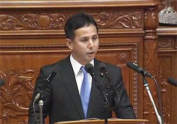 衆議院本会議:遠山清彦議員の代表質問