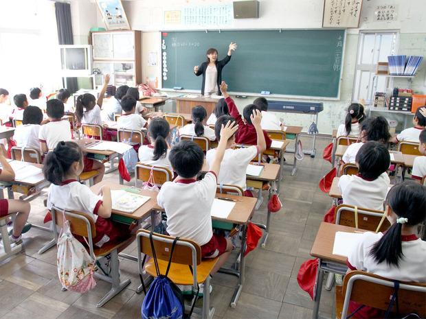 小学校の事業風景