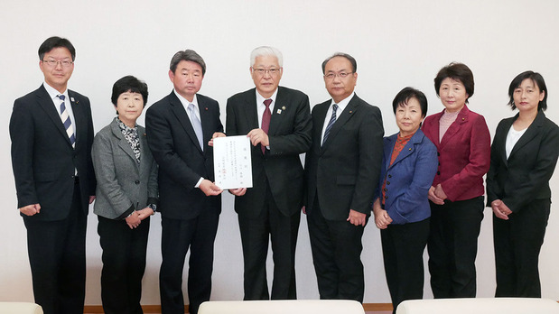 日立市長選・小川市長との政策協定