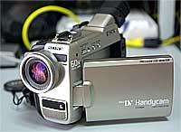 ソニーDV Handycam DCR-TRV9