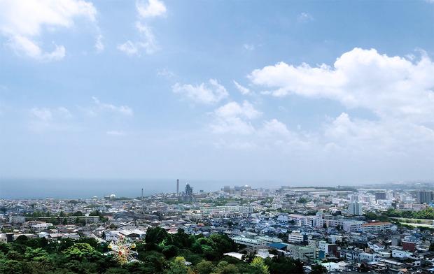 日立市の遠景