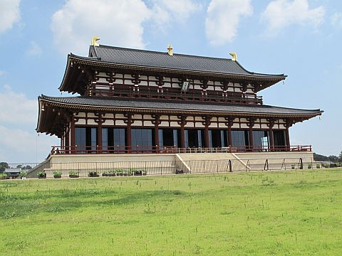 平城遷都1300年祭:第1次大極殿