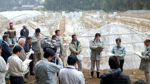 県議会農林水産委員会豪雪被害調査