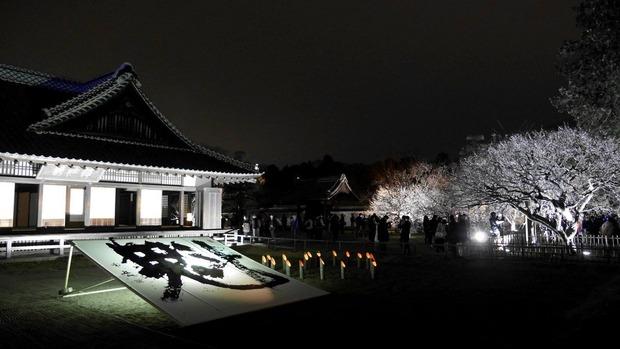 水戸弘道館夜梅まつり