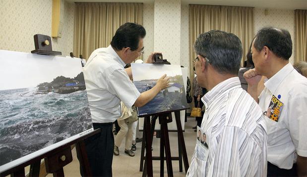 東日本大震災の記録写真展(2014年8月)