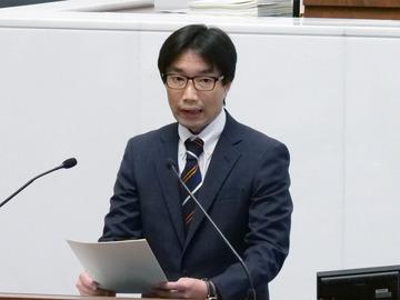 いばらき原発県民投票の会共同代表徳田太郎氏