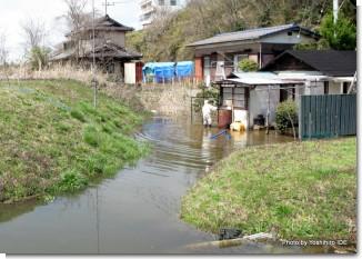 久慈町床下浸水被害