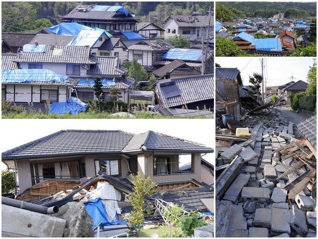 熊本地震<益城町の被害状況>