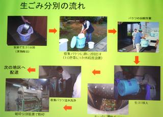大木町の生ゴミ分別