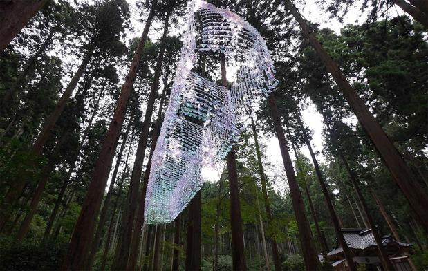 御岩神社<県北芸術祭の作品>