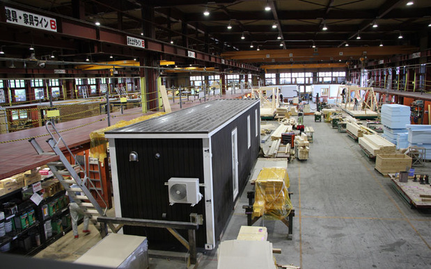 スマートモデューロの生産工場
