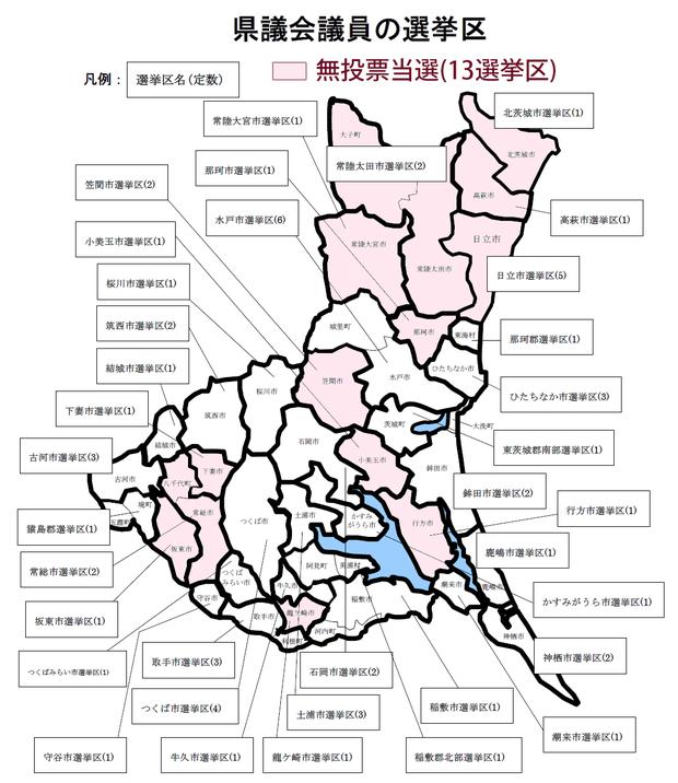 2014県議選選挙区マップ