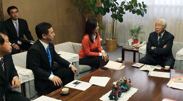 杉本彩さんと兵庫県知事