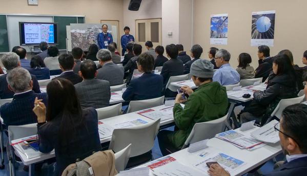 東京電力福島第1原発を現地調査