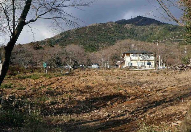 筑波山麓の太陽光発電施設建設予定地