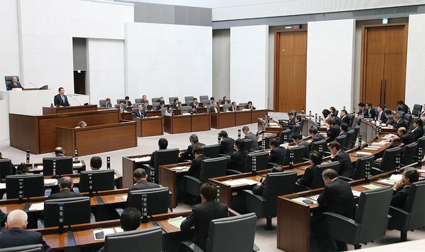 茨城県議会代表質問