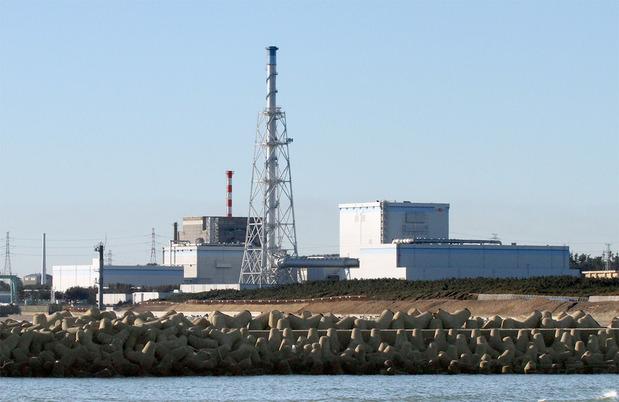 日立港から眺めた東海第2原発