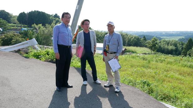 西原村を現地調査