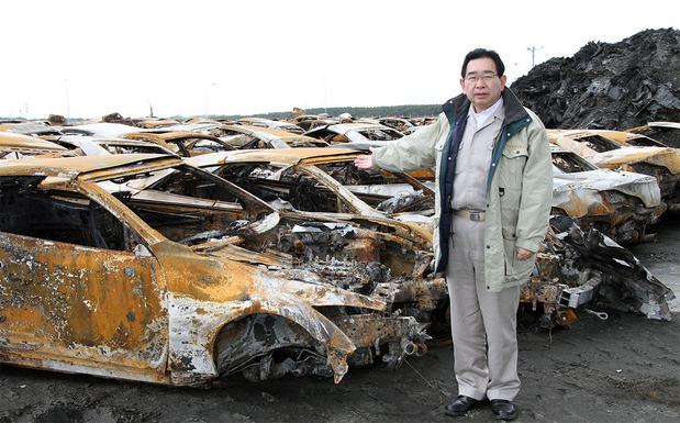 東日本大震災で大きな被害を受けた日立港