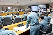 第1回災害対策本部会議