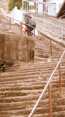 広島県呉市<両城の200段階段>