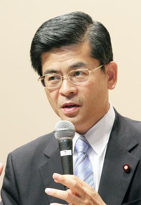 講演する石井啓一国交大臣