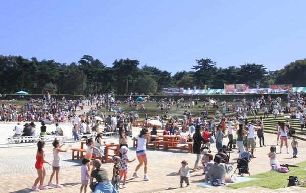 ひたち海浜公園:フーバーズ2015