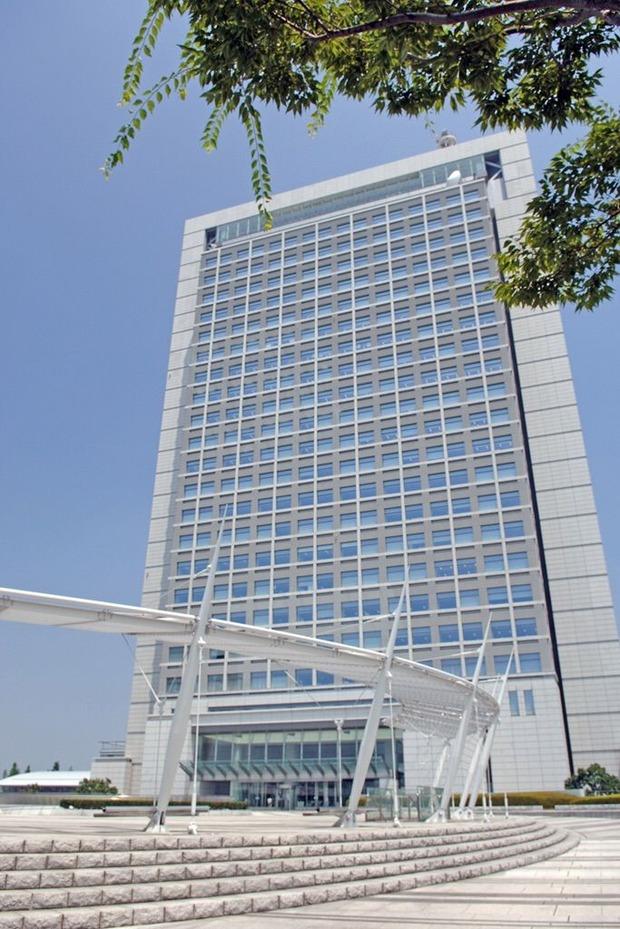 茨城県庁舎