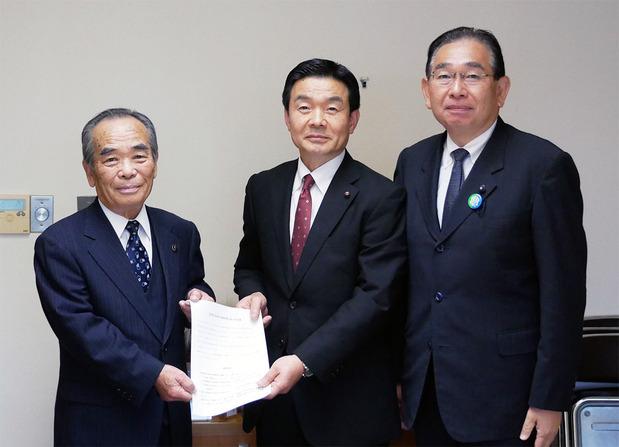 常陸太田市長への要望