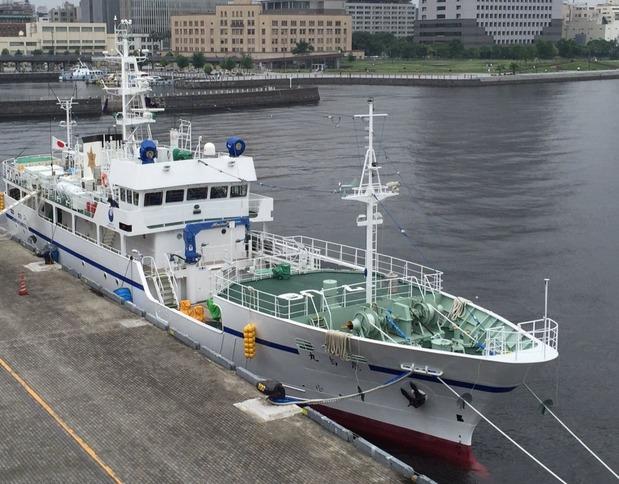 県立海洋高校実習船「鹿嶋丸」