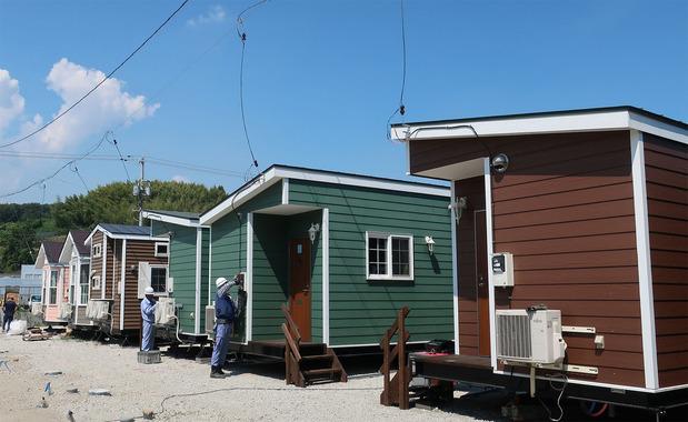 モバイル型仮設住宅(トレーラーハウス)